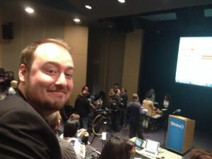 Matt attends a Social Media breakfast