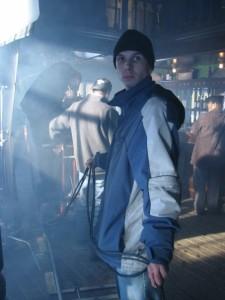 Scott on Set