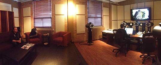 Studio Tour at 6 Degrees