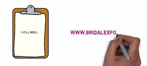 Bridal Expo – Sketch Animation