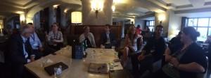 NSI Alumni hanging out at the Banff World Media Festival