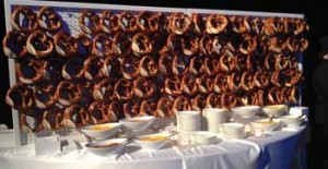 Pretzel walls...they're real.